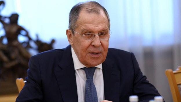 Siergiej Ławrow /RUSSIAN FOREIGN AFFAIRS MINISTRY / HANDOUT HANDOUT /PAP/EPA