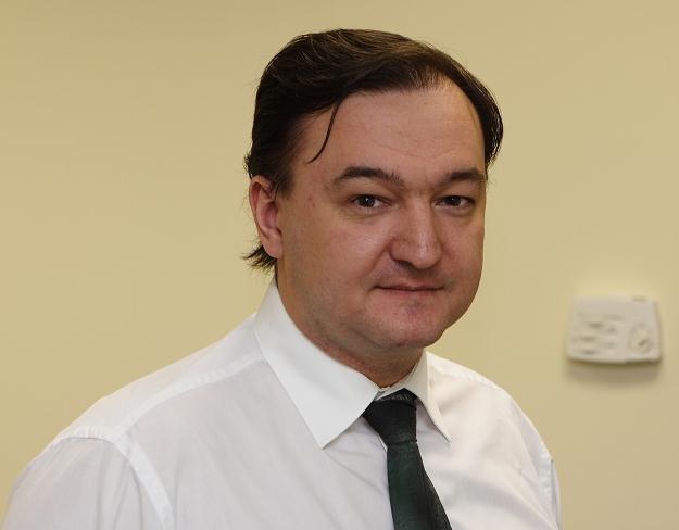 Siergiej Magnitski /AFP