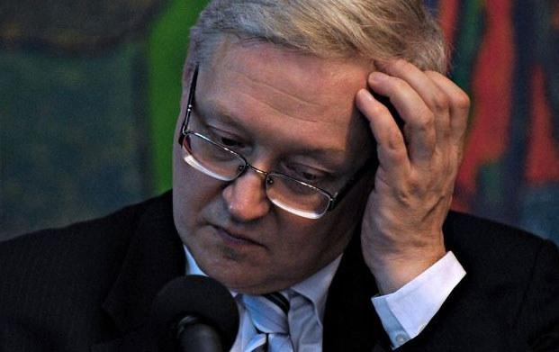 Siergiej Riabkow - wiceminister spraw zagranicznych Rosji. /AFP