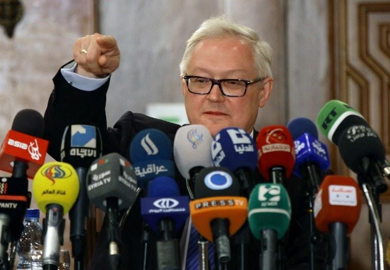 Siergiej Riabkow /AFP