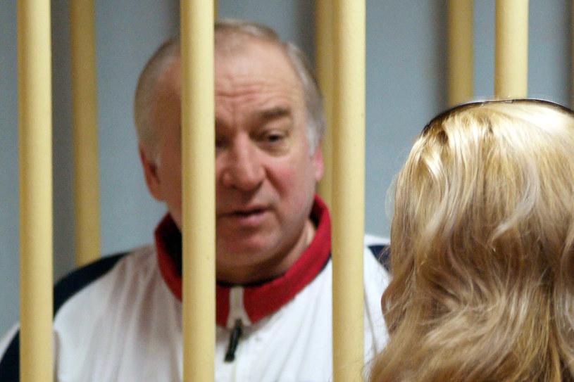 Siergiej Skripal został skazany w Rosji na 13 lat więzienia za szpiegostwo /AFP