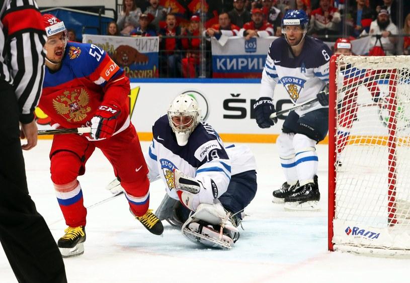 Siergiej Szirokow świętuje zdobycie bramki w półfinale MŚ /PAP/EPA