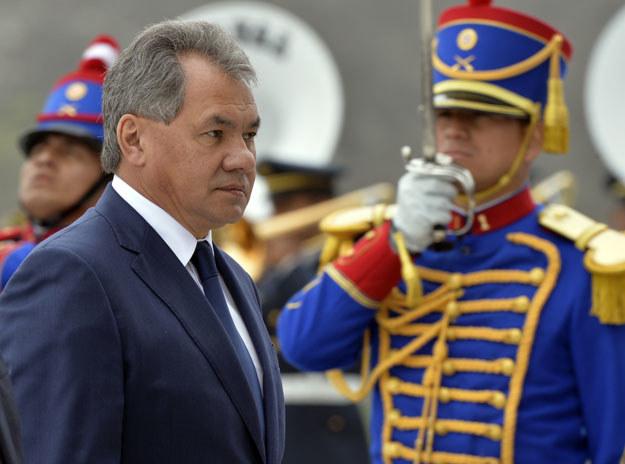 Siergiej Szojgu zapowiedział budowę bazy wojskowej na spornych Kurylach /AFP