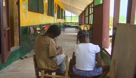 Sierociniec w Liberii /cnn.com /