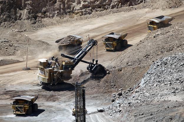 Sierra Gorda - kopalnia KGHM w Chile. Fot. MARIO RUIZ EFE /FORUM