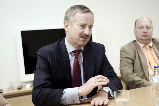 Siim Kallas, wiceprzewodniczący Komisji Europejskiej odpowiedzialny za transport /AFP