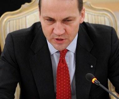 Sikorski: Polska podpisze pakt, gdy będzie zgodny z jej interesami