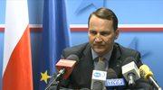 Sikorski: UE uznała zachowanie Rosji za akt agresji