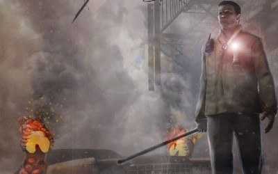 Silent Hill - motyw graficzny /INTERIA.PL