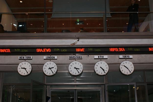 Silne spadki głównych indeksów na GPW w Warszawie /©123RF/PICSEL