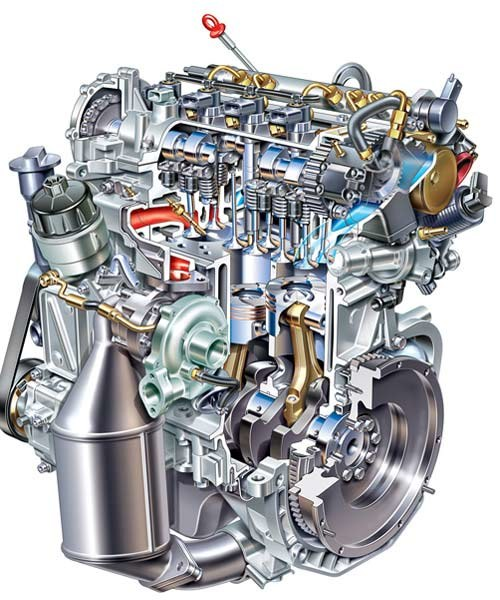 Silnik 1,3 JTD 16 V produkcji Fiat GM Powertrain z Bielska / kliknij /INTERIA.PL
