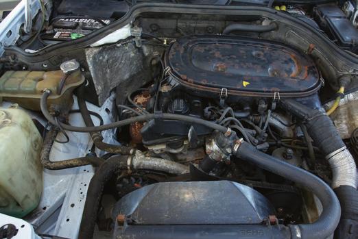 Silnik 2.3 zapewnia tylko wystarczające osiągi, a układ wtryskowy KE-Jetronic sprawia problemy. /Motor