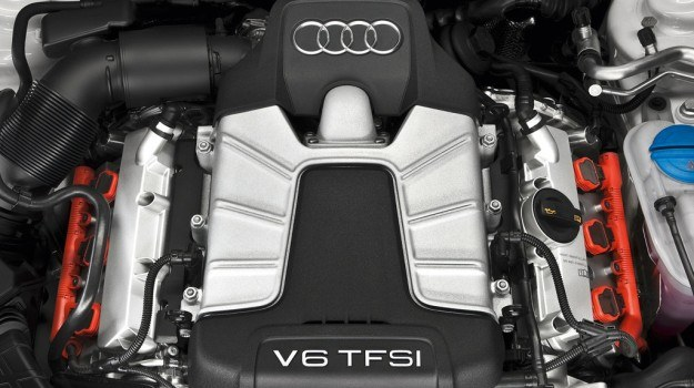 Silnik 3.0 TFSI pod maską Audi S5 /Audi