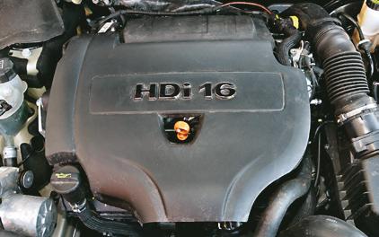 silnik HDi /Motor