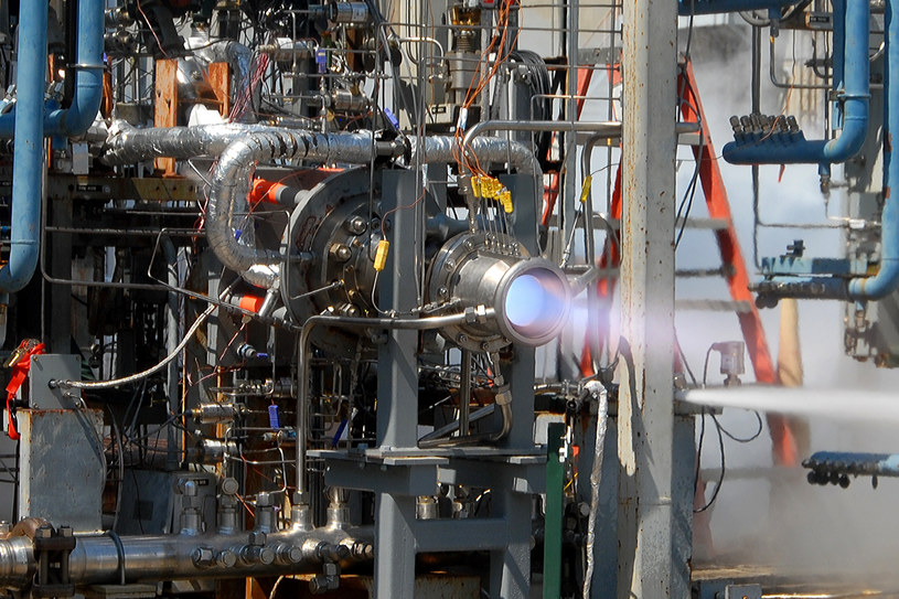 Silnik na metan już wkrótce stanie się wyposażeniem przyszłych marsjańskich lądowników /NASA