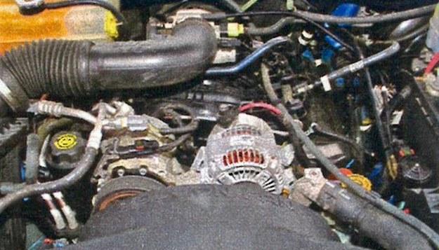 Silnik nie jest może pięknie obudowany, ale za to bardzo trwały. /Motor