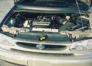 Silnik osadzony jest poprzecznie i w odróżnieniu od Aerostara napędza przednie koła. /Motor