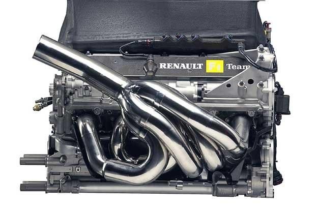 Silnik RS 24 Renaulta /