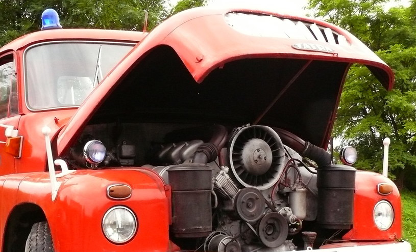 Silnik Tatry 138 był chlodzony powietrzem. Fot. Archiwum Muzeum Ratownictwa /INTERIA.PL
