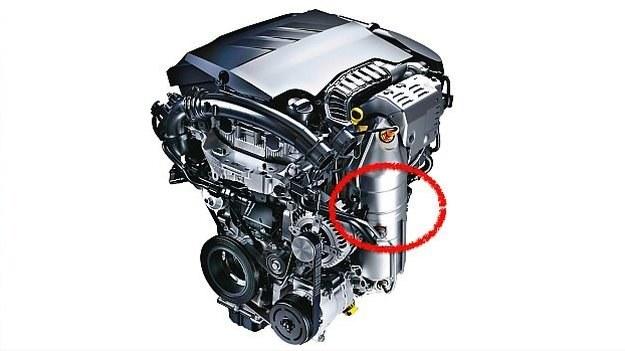 Silnik z GPF /Motor