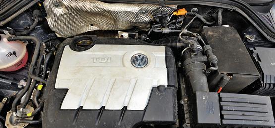 Silniki 2.0 TDI CR w Tiguanie nie psują się tak często jak starsze wersje PD. /Motor