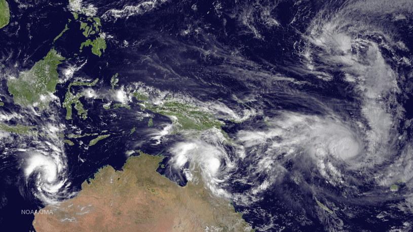 Silny cyklon Pam uderzył w Vanuatu /PAP/EPA