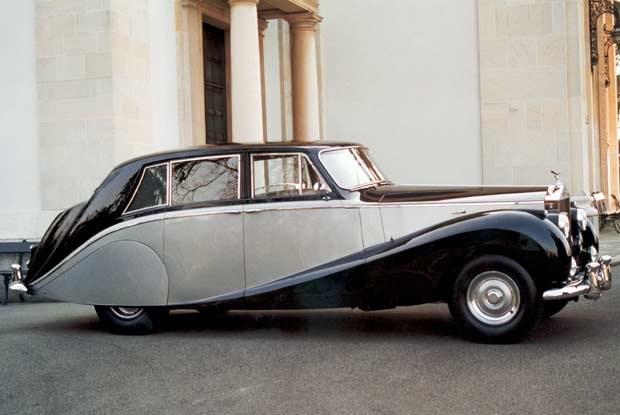 Silver Wraith Limousine Hooper z 1958 roku (kliknij) /INTERIA.PL