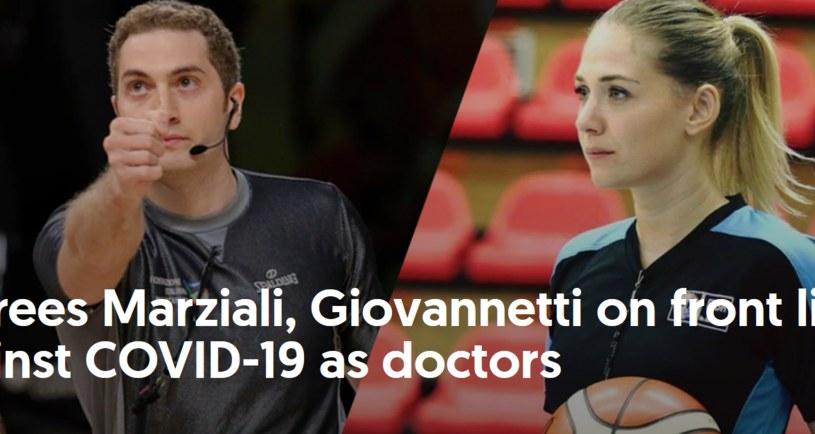 Silvia Marziali i Guido Giovannetti / fot. www.fiba.basketball /