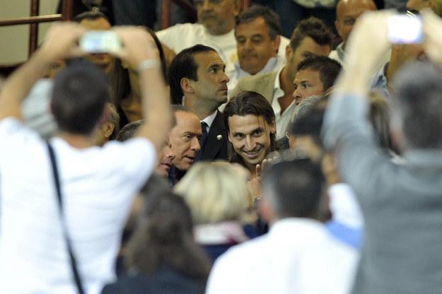 Silvio Berlusconi i Zlatan Ibrahimović /AFP