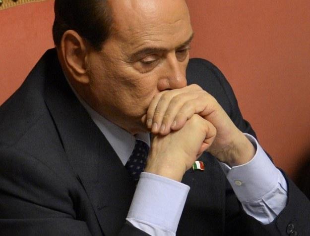 Silvio Berlusconi skazany na 4 lata więzienia /AFP
