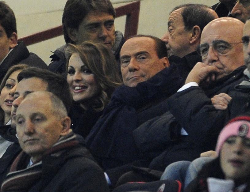 Silvio Berlusconi (w środku) /Claudio Villa /Getty Images