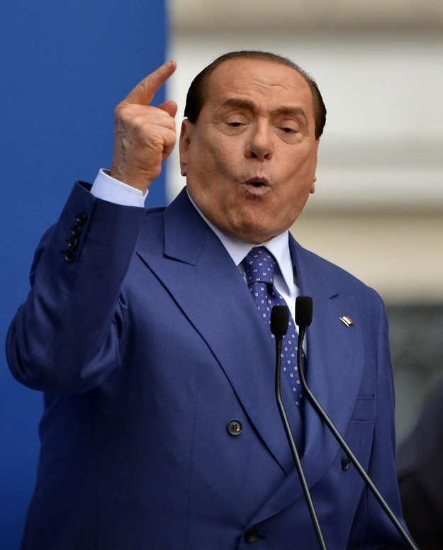 Silvio Berlusconi /RICHARD MORGANO    /PAP/EPA