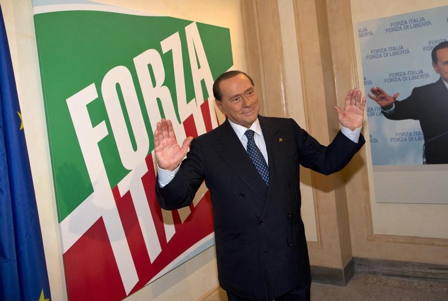 Silvio Berlusconi /MASSIMO PERCOSSI /PAP/EPA