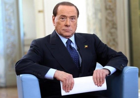 Silvio Berlusconi /PAP/EPA/MATTEO BAZZI /PAP/EPA