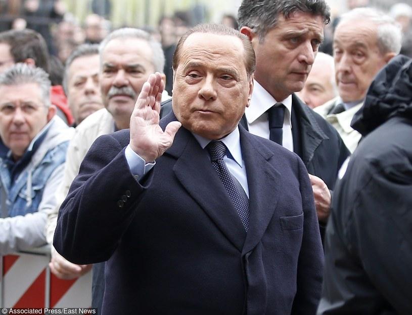 Silvio Berlusconi /AP /East News