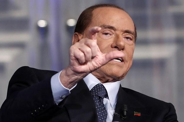 Silvio Berlusconi /RICCARDO ANTIMIANI /PAP/EPA