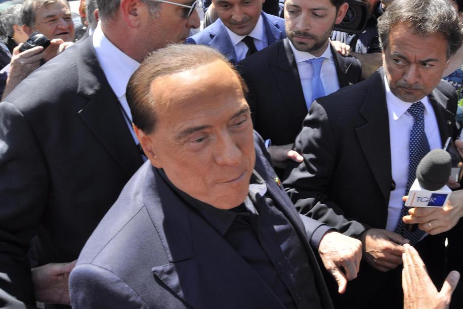 Silvio Berlusconi /THIERRY PRONESTI /PAP/EPA