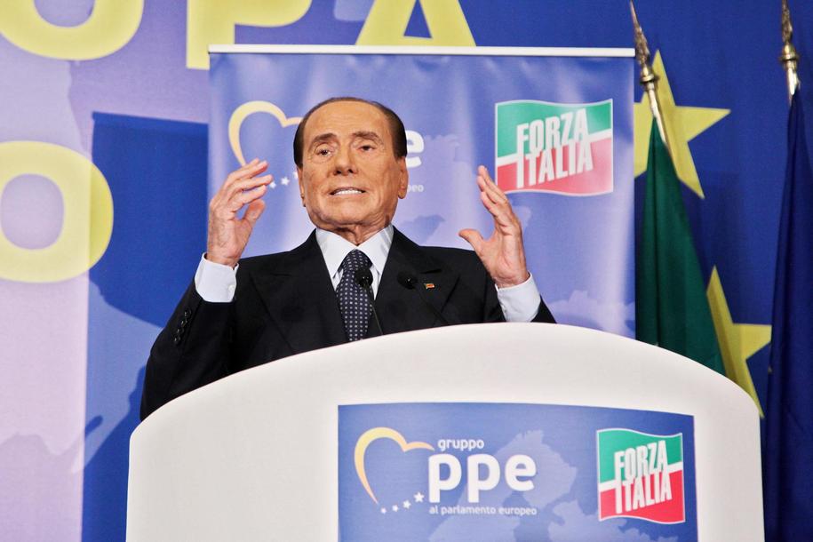 Silvio Berlusconi /FEDERICO PROIETTI /PAP/EPA