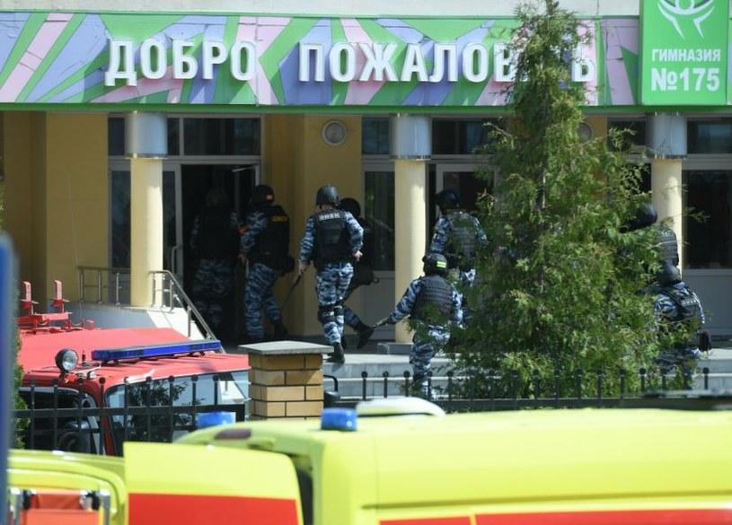 Siły bezpieczeństwa przeprowadziły szturm na szkołę /Maksim Bogodvid/SPUTNIK Russia /East News