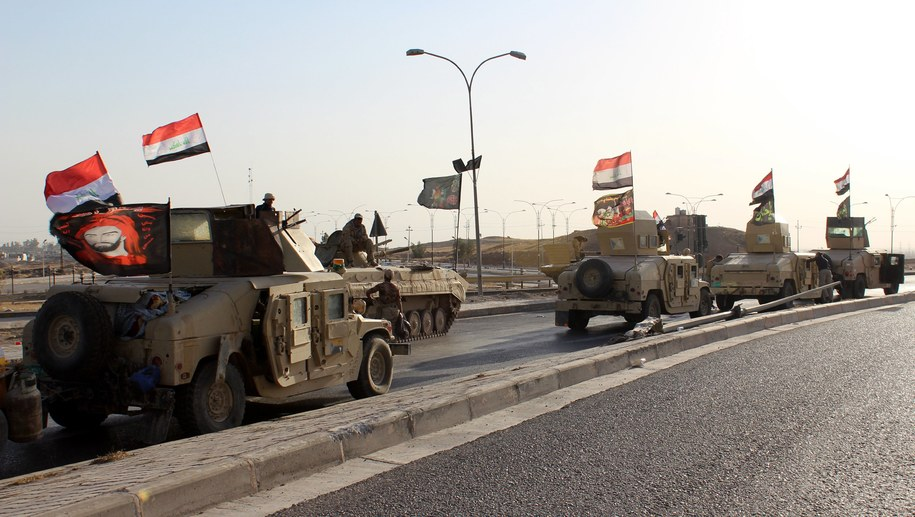 Siły irackie w Kirkuku /PAP/EPA