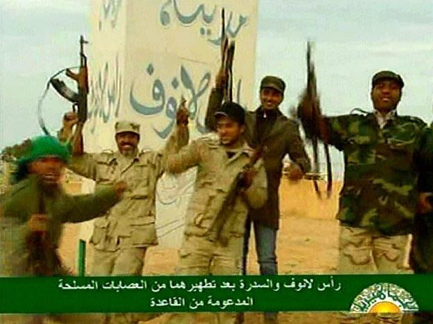 Siły Kadafiego /AFP