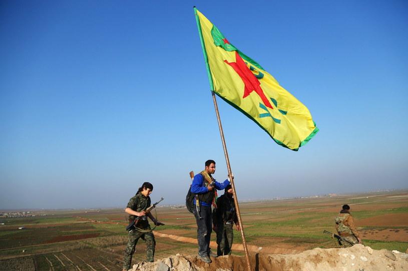 Siły kurdyjskie /PAP/EPA