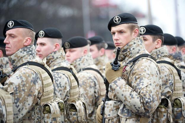 Siły zbrojne Łotwy są niewystarczające fot. Ilmars Znotins /AFP