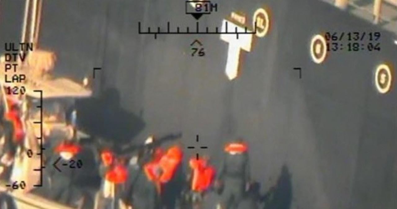 Siły zbrojne USA opublikowały nowe zdjęcia ataku na tankowiec