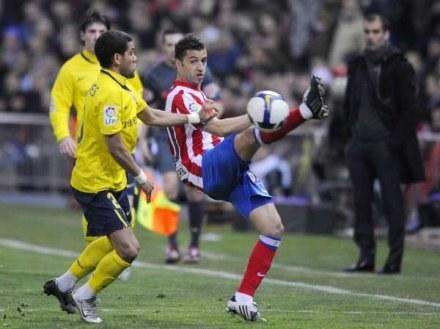 Simao nie boi się walki z czołowymi ekipami La Liga /AFP