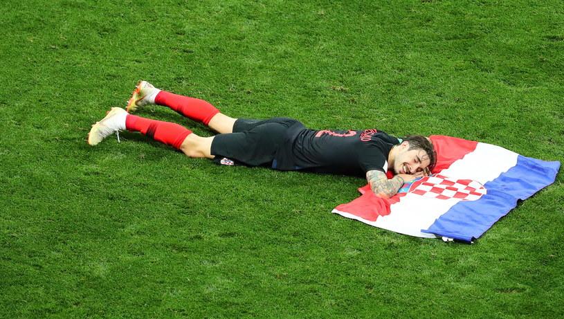 Sime Vrsaljko zasłużenie odpoczywa po półfinale z Anglikami /PAP/EPA