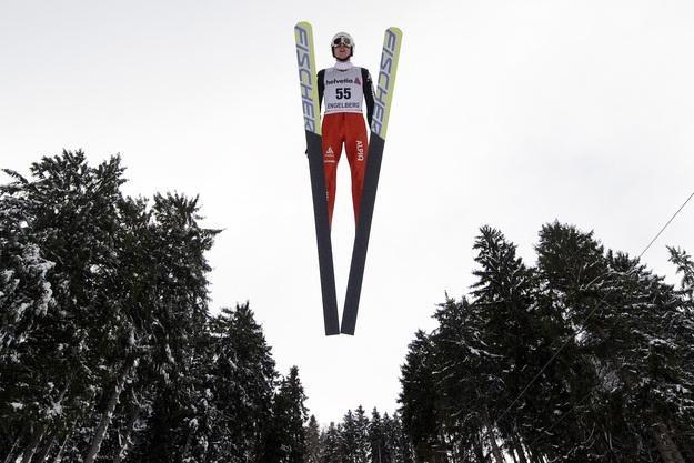 Simon Ammann /AFP