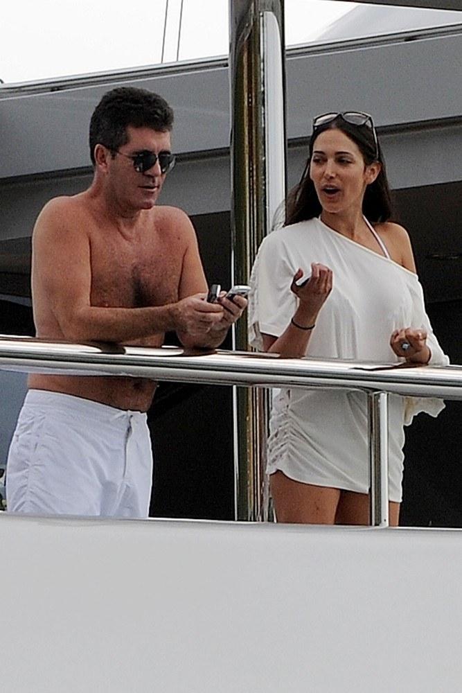 Simon Cowell i Lauren Silverman /- /East News