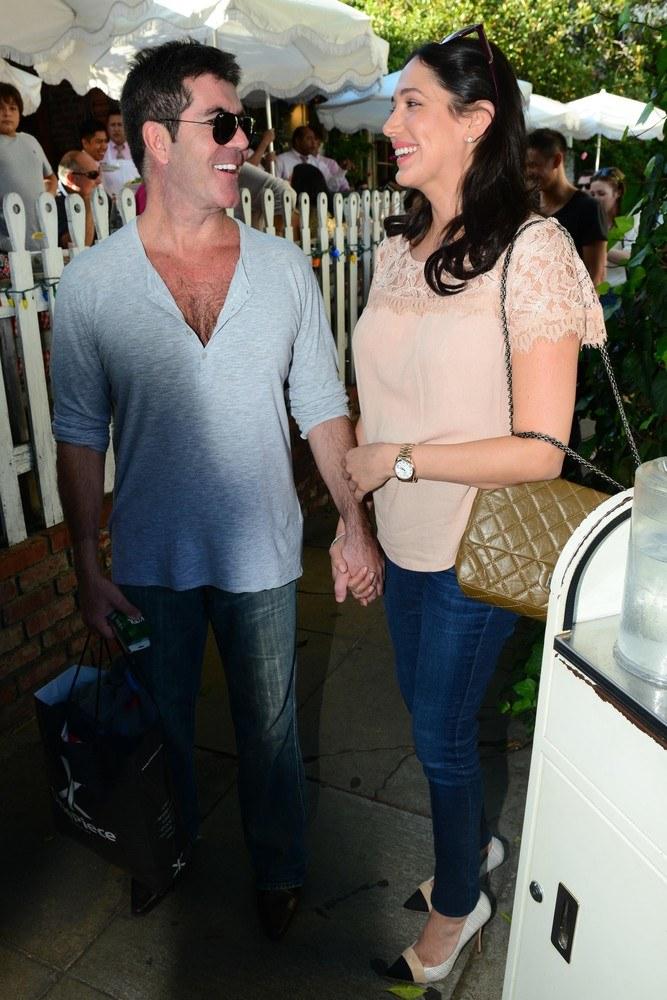 Simon Cowell, Lauren Silverman /East News