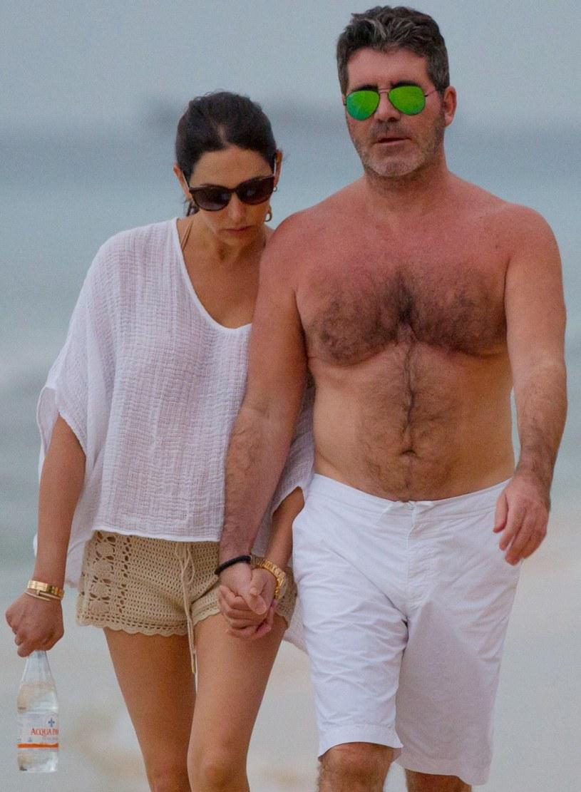 Simon Cowell z ukochaną /- /East News